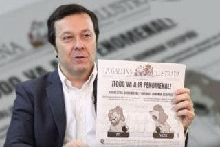 """José Antonio Fúster (La Gallina Ilustrada): """"Tener un pasado de izquierdas te da una tarjeta de visita"""""""
