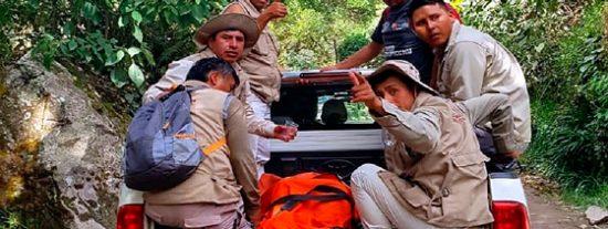 Turista cae al precipicio cuando descendia del Huayna Picchu