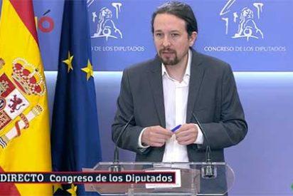 Pablo Iglesias e Irene Montero son los más ricos de su partido pero el podemita va a hablarle al Rey de desempleo y pobreza