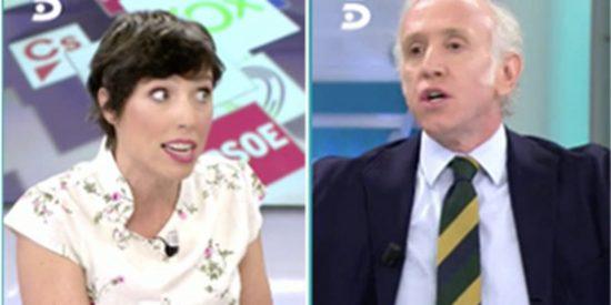 Inda 'baila sobre la tumba de Pablo Iglesias' y Marta Nebot se irrita hasta límites insospechados