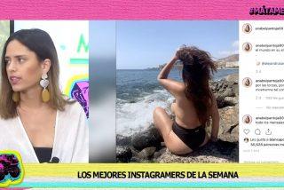 '¡Mátame camión!': Instagram 'peta' con el controvertido topless de Anabel Pantoja y la foto de Rajoy en una despedida de soltera