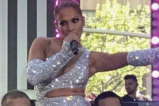 Vídeo: Jennifer López se menea con el 'bum bum' al aire para rendir un 'tributo' a Selena