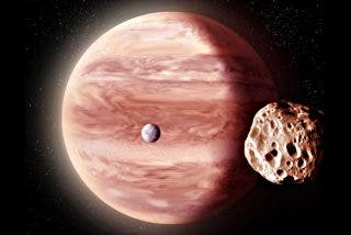 Las imágenes de Juno permiten sobrevolar la luna Ganímedes y Júpiter