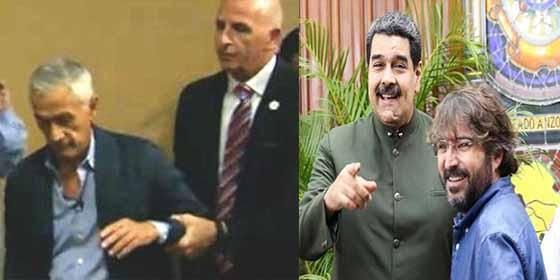 """Pillan a Jorge Ramos con Jordi Évole en una comida y arden las redes contra el de laSexta: """"Es el lameculos de Maduro"""""""