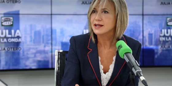 """Julia Otero, la que defendió al asesino Rodrigo Lanza, asegura en su programa que VOX """"está obsesionado con las mujeres"""""""