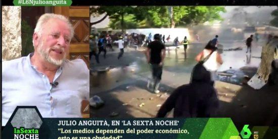 El comunista Julio Anguita defiende al dictador Nicolás Maduro y acusa de 'tarifada' a la cúpula de laSexta