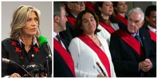 ¡Julia es la monda! Otero vende que Colau ha sido apoyada de forma apabullante y en Twitter la masacran a base de bien