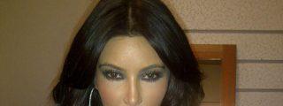 La fotos de Kim Kardashian, mal maquillada, que muy pocos han visto