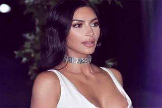 Kim Kardashian padece una enfermedad en la piel y su cara sin maquillaje se ve así