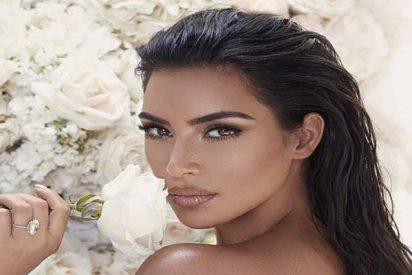 Kim Kardashian nos enseña el 'culotte'