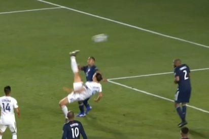 La última obra de arte de Zlatan Ibrahimovic: Una gran nueva pirueta y gol