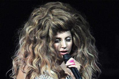 """Nunca imaginamos ver esta foto de la """"concha"""" de Lady Gaga"""