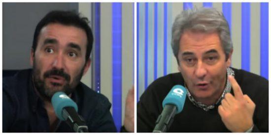 Épica enganchada de Manolo Lama con Juanma Castaño por insinuar que el narrador se dejó utilizar por Sergio Ramos