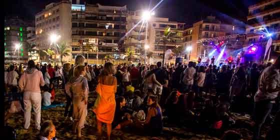 Las Palmas de Gran Canaria celebra su cumpleaños a lo grande
