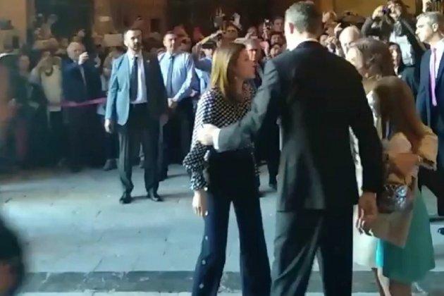 Brutal: vídeo de la pelea entre Doña Letizia y Doña Sofía y los gritos del Rey Juan Carlos