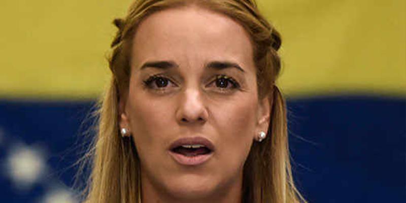 Lilian Tintori en España: Los podemitas explotan de ira en las redes sociales