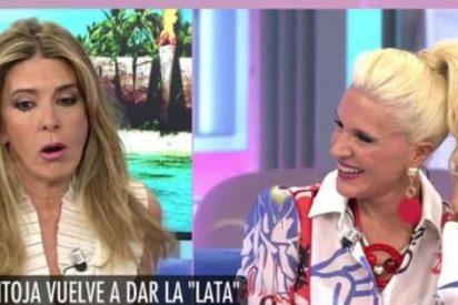 Loli Álvarez, acorralada y avergonzada en 'El programa de AR' al ser preguntada por Isabel Pantoja