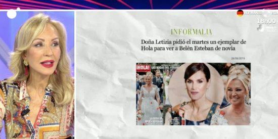 """Carmen Lomana no se corta al hablar sobre Letizia: """"Es cotilla, por muy reina que sea"""""""