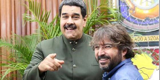 """Vídeo: Mire y compare la entrevista de Ramos con las tres preguntas más """"valientes"""" de Évole a Maduro"""