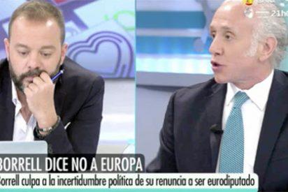 """El glorioso troleo de Inda a Antonio Maestre: """"¡Hoy vienes vestido de vaquero del Ibex 35!"""""""