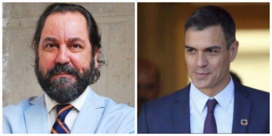 """Ramón Pérez-Maura aniquila el último vestigio de decencia del plagiador Sánchez: """"¿Por qué es tan cobarde y no se atreve a querellarse contra el ABC?"""""""