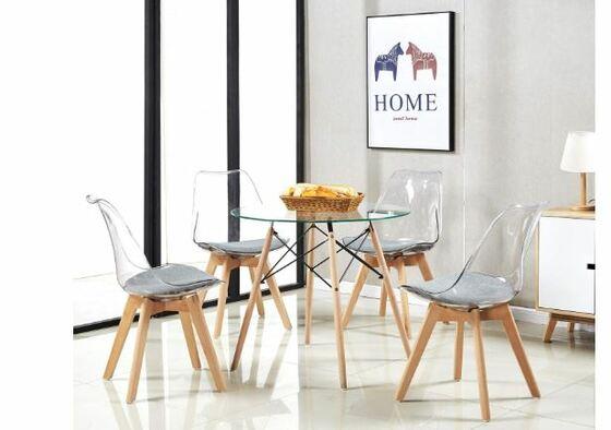 Mesas y sillas de cocina modernas, ¿cuadradas o redondas ...