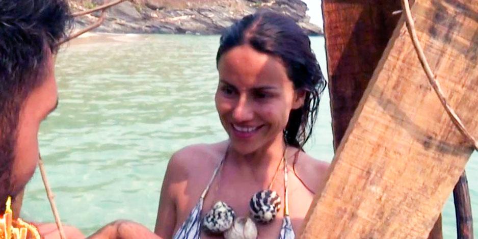 'Supervivientes 2019': Mónica Hoyos declara su amor a Colate en la palapa