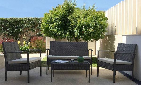 Conjuntos de muebles de terraza y jardín más vendidos en Amazon