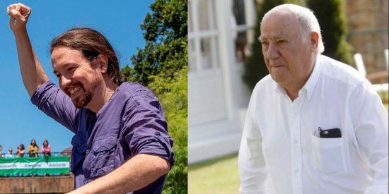 Amancio Ortega no es moroso de Hacienda, como dice Podemos, y sí debe una millonada la IU de Garzón e Iglesias