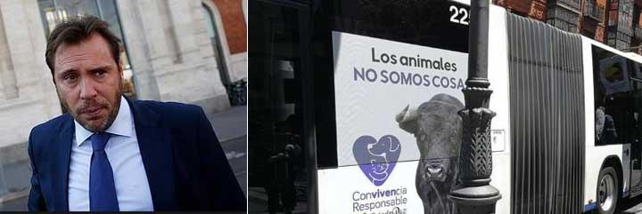 El durísimo rapapolvo público de la Fundación del Toro de Lidia al desorientado e irresponsable alcalde de Valladolid por su 'autobús animalista'