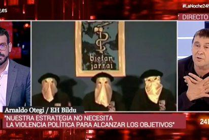 Confesiones etarras con el monaguillo de Rosa María Mateo: Marc Sala absuelve a Otegi en una entrevista insultante para las víctimas de ETA