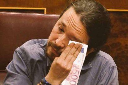 El dato que oculta el ególatra Pablo Iglesias: las bases de Podemos pasan olímpicamente de su hambre de sillón