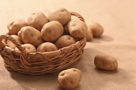 patatas crudas
