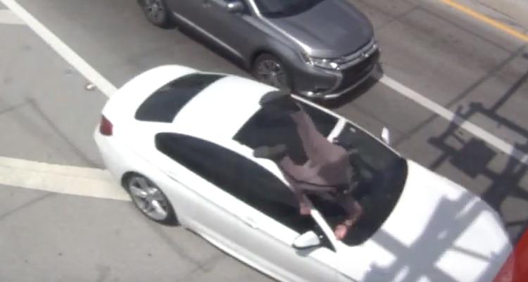Vídeo: El dramático momento en el que atropellan a un oficial de la Patrulla de Carreteras de EEUU