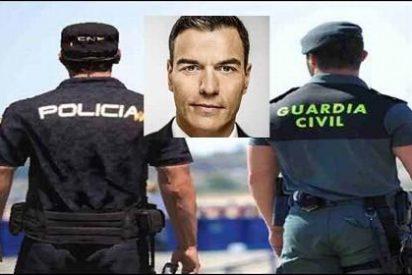 Los Guardias Civiles y Policías se siente solos y abandonados