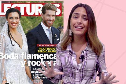 Esto es lo que nos cuentan las revistas de la boda de Pilar Rubio y Sergio Ramos