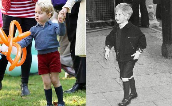 principe Hary de Inglaterra con pantalones cortos