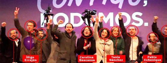 'Soviet Style': de los 10 de esta foto de Podemos sólo queda 'vivo' Pablo Iglesias