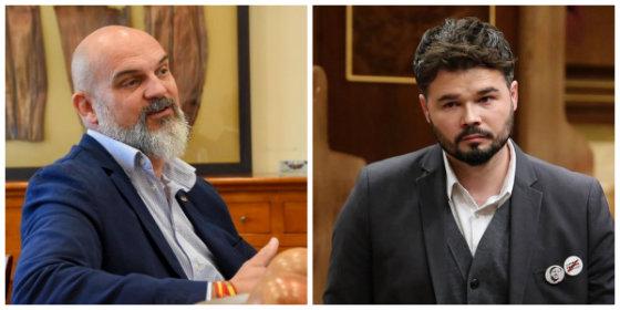 Víctor del Real (VOX) manda a esparragar al forofo Rufián y de paso le recuerda que lleva 25 meses de más chupando del dinero de todos los españoles
