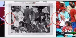 El tramposo de Risto Mejide manipula una imagen para 'borrar' a un periodista de Público que le chafa su informe