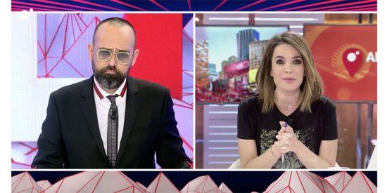 Carme Chaparro paga en directo los platos rotos del cabreo inmenso que lleva Risto Mejide con Mediaset por pasar de su chusco 'informe'