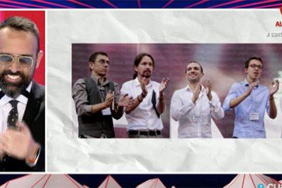 Los Vengadores, El Consorcio o 'Podemos; El Reencuentro', las risotadas de un programa de TV con las pretensiones de Ramón Espinar