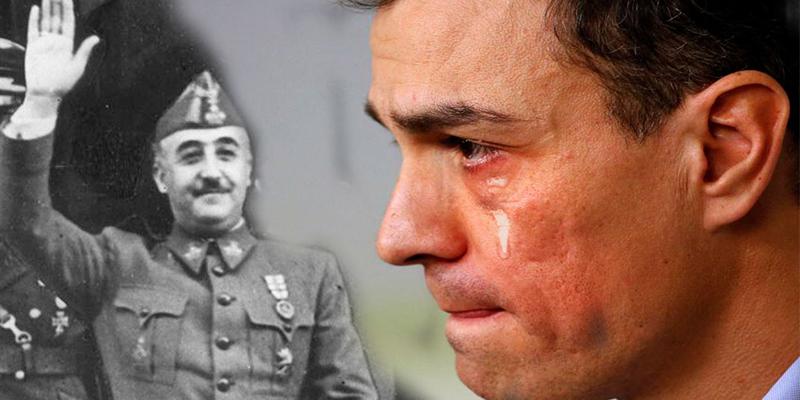 El TS deja a Sánchez con un palmo de narices: suspende la exhumación de la momia de Franco