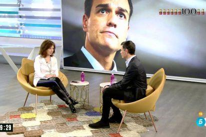 """Ana Rosa Quintana hiela Telecinco 'despidiéndose' de su programa y llama """"kamikaze"""" a Pedro Sánchez"""