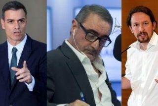 Carlos Herrera dibuja la cruda realidad para Podemos: Sánchez no quiere ver a Iglesias y su tropa todos los viernes sentados en su mesa