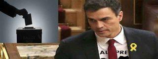Sería repugnante que Pedro Sánchez aceptase votos manchados de sangre para ser presidente y lo va a hacer