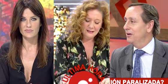 Carlos Cuesta y Cristina Seguí meten una tunda tremenda a la exaltada podemita Fallarás por creerse más que el Supremo