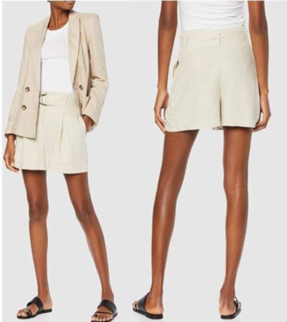 Shorts o pantalones cortos de mujer de vestir