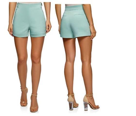 Shorts O Pantalones Cortos De Mujer De Vestir Nuestra