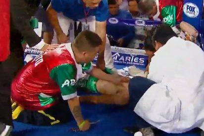 Vídeo: El dramático momento en el que reaniman en el ring a un boxeador